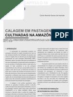 A calagem em pastagens cultivadas na Amazônia