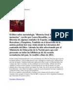 Historia Oral. Relatos y memorias. Laura Benadiba