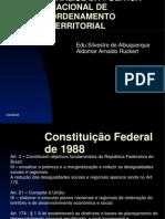 ANALISE DA POLITICA NACIONAL DE ORDENAMENTO TERRITORIAL