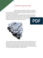 Motor SAAB de compresión variable