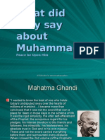 what they-said about muhammad