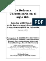 La Reforma Universitaria Hoy (Nestor Kohan)