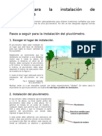 Manual Instalacion Pluviometros