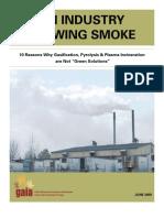 Blowing Smoke Report
