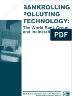 Bankrolling Polluting Technology- The World Bank Group and Incineration