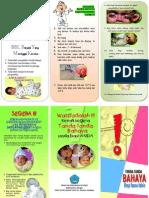 Leaflet Tanda Bahaya BBL
