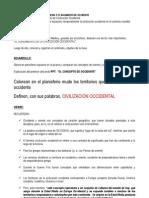 2. EL CONCEPTO DE CIVILIZACIÓN OCCIDENTAL