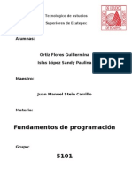 Tarea 1 Fundamentos de Programacion
