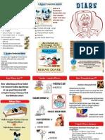 Leaflet Diare Pada Anak