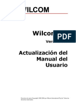 Wilcom Actualización Manual de Usuario 9.0