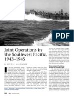 Joint Operations in the Southwest Pacific (1943–1945)