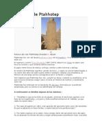 Maximas de Ptahhotep