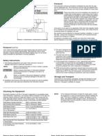 Mechanical seal installation instruction