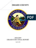 El Dorado County 2004-05 Grand Jury, Final Report