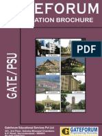 GATE2013 Brochure