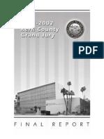 Kern County 2001-02 Grand Jury, Final Report