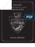 San Bernandino County 2006-07 Grand Jury, Final Report