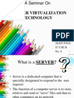 SERVER VIRTUALIZATION TECHNOLOGY
