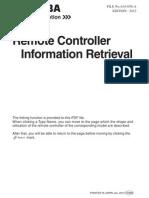 SM A10 050 a Remote Controller Information