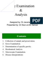 Urine Analysis Presentation