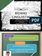 Bab 1 Linguistik