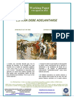 ESPAÑA DEBE ADELANTARSE (Es) SPAIN MUST ACT ON TIME (Es) ESPAINIA AURRERATU BEHAR DA (Es)