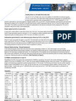 Power Sector - Monthly Update - July 2012