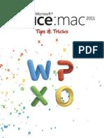 Office Mac 2011 Tips & Tricks