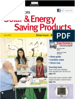 Solar & Energy Saving Products JUL12