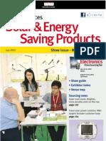Solar & Energy Saving Products JUL12