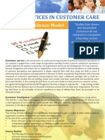 best practices customer care course details