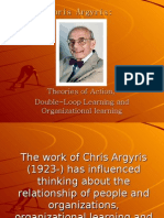 Chris Argyris - Workshop