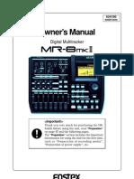 Mr8mk2 Owners Manual