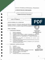 Temario Admin is Trac Ion de Personal