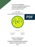 Pra Rancangan Pabrik Alkil Benzene Sulfonate - Zeffa & Widya