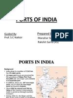 Ports of India