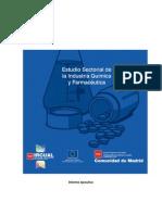 Estudio Sectorial de la Industria Quimica y Farmaceutica madrid españa
