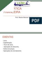 Ementas-Matemática Financeira