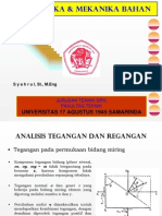 Materi 5 Analisis Tegangan Dan Regangan