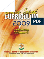 Senior School Curriculum Vol II