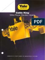 Yale - Cosmo Petra - Cable King - Safe Lifting Solutions - Www.cpworks-eg.com
