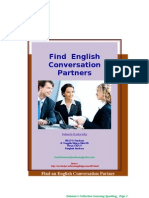 Find an English Conversation Partners