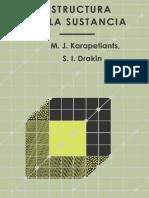 Estructura de la Sustancia - M. J. Karapetiants, S. I. Drakin (2da Edición)