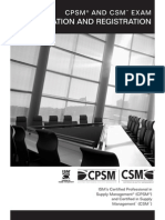 CPS Exam Reg Info