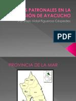 FIESTAS PATRONALES EN LA REGIÓN DE AYACUCHO