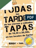 Cerler, Tardes de Tapas.