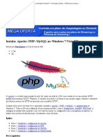 Instalar Apache+PHP+MySQL no Windows 7 » Pinceladas da Web - HTML5 Hard Coding and Bullet Proof CSS