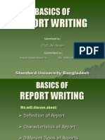 Assignment_Basic of Report Writing