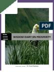 Wisdom Diary on Prosperity. Dr David Oyedepo