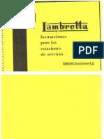 Manual Estaciones de Servicio Lambretta 125 LD y Patinete